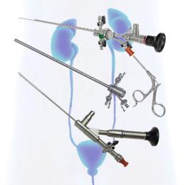 Лапароскопическое оборудование и инструменты для урологии